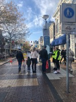 On street questionnaire wayfinding research