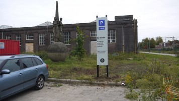 Parking sign Leerfabriek KVL