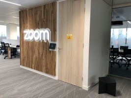 Wall Zoom Logo Brand Design Experience