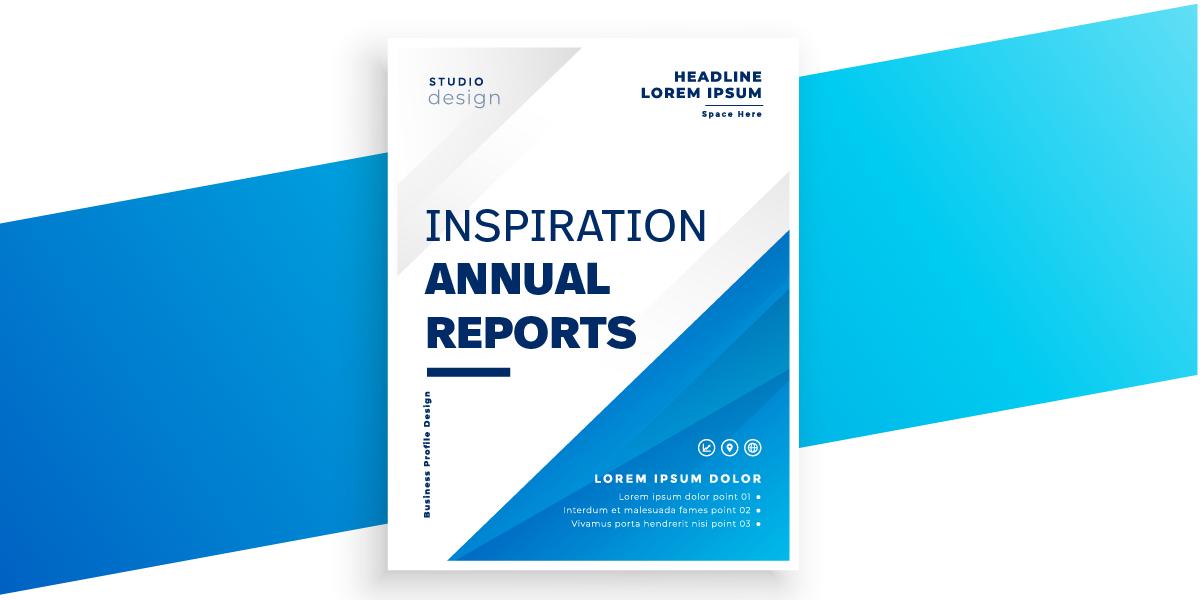 Inspiratie: Jaarverslagen ontwerp