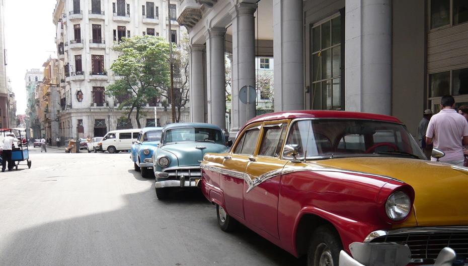 Stadsbewegwijzering in Havana
