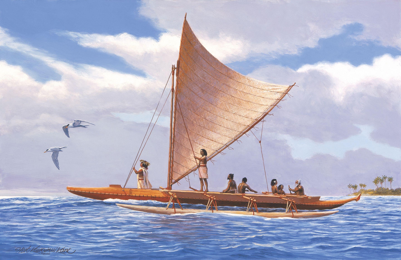 The voyage begins