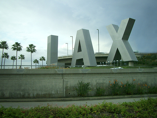 LAX Airport letters