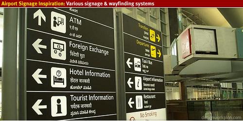 Airport Signage Designworkplan Wayfinding Design Studio