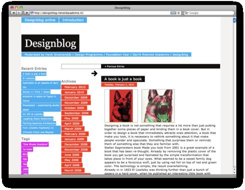 rietveld academie design blog