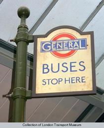 General bus stop TfL