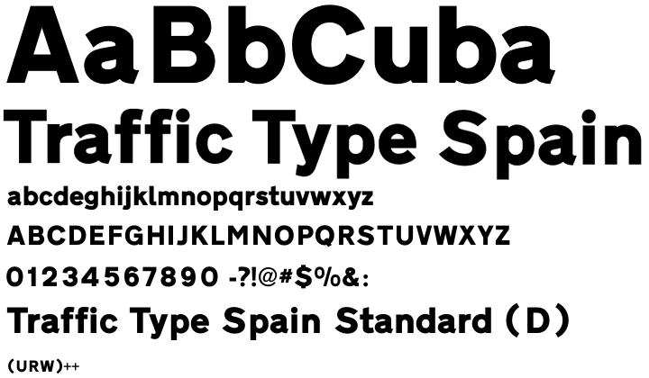 Traffic Type Standard (D)