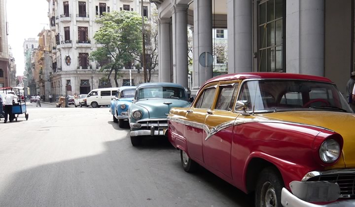 Old timers in Havana