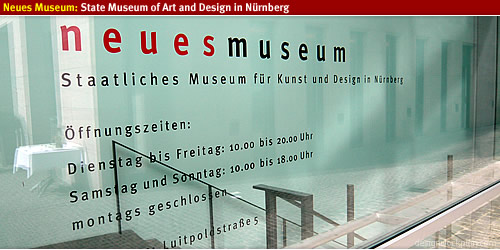 Neues Museum: Art and Design in Nürnberg