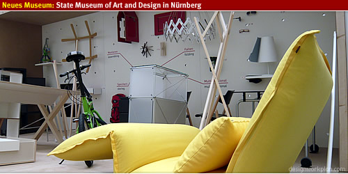Neues Museum: Graphic, product and industrial design