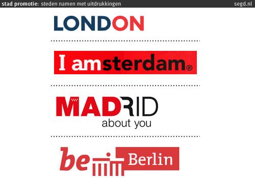 welke steden hebben 4 letters