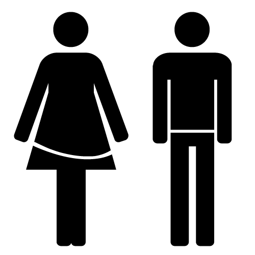 symbol sign male female