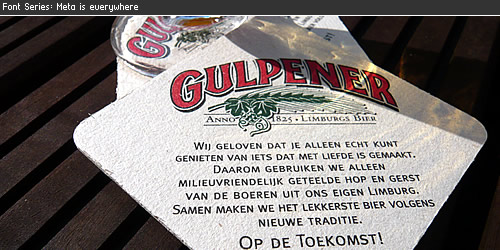 FF Meta is everywhere: Gulpener Beer
